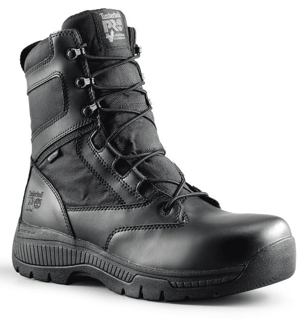 "Timberland PRO® Men's 8"" Valor Waterproof Side-Zip - Soft Toe boots TIMBERLAND"