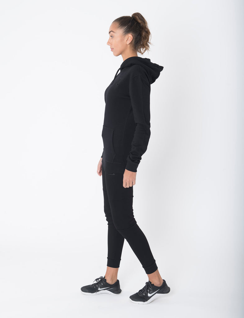 Sculpted Black Pullover