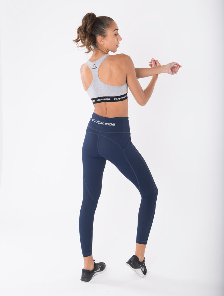 Infinity Sculpt Leggings Blue