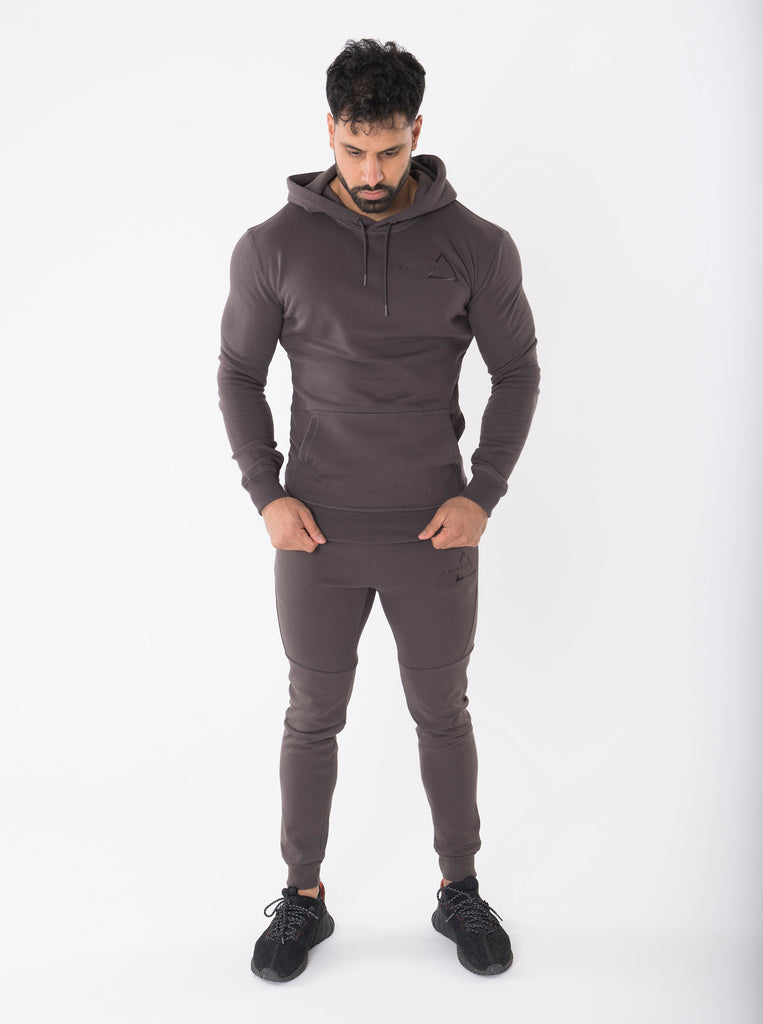 Sculpted Shadow Grey Joggers