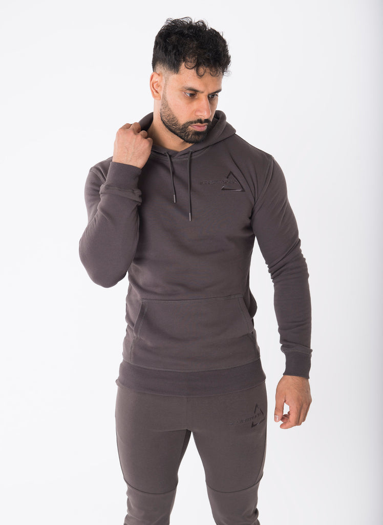 Sculpted Shadow Grey Pullover