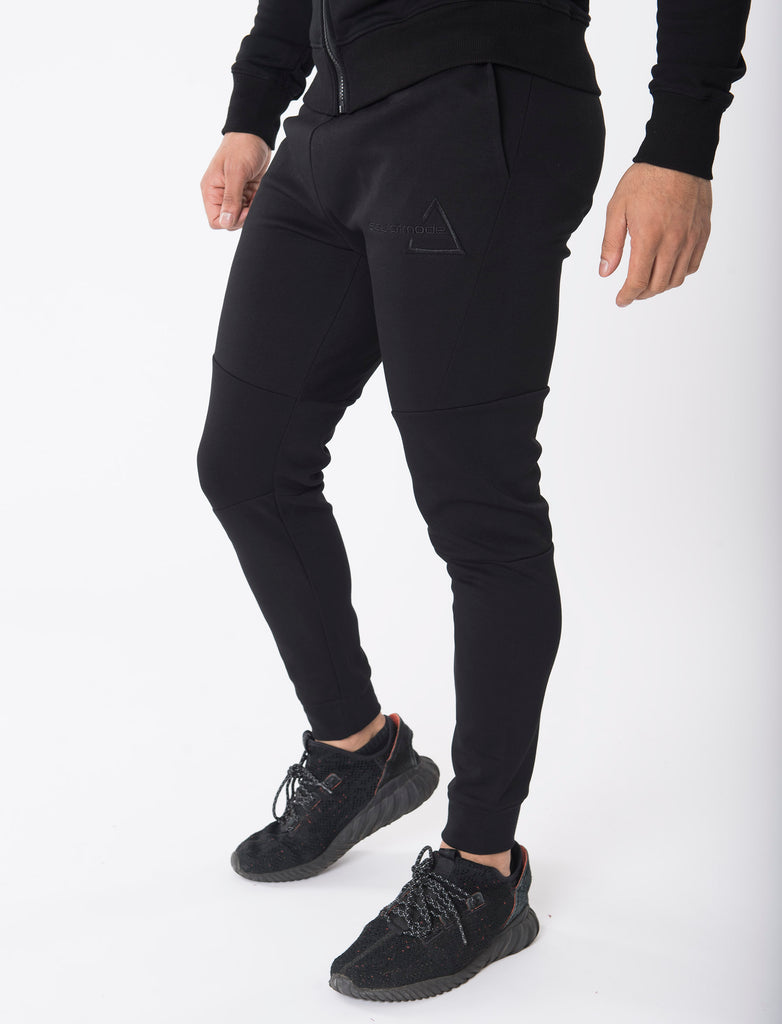 Sculpted Black Joggers