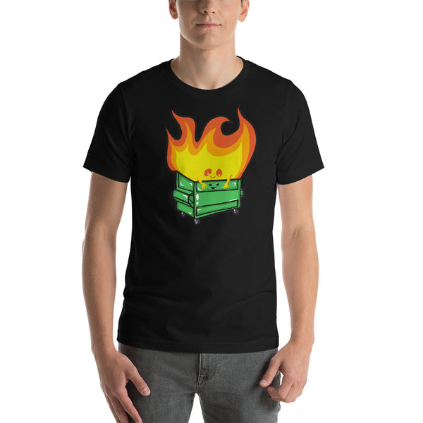 Best Friends Dumpster Fire Short-Sleeve Unisex T-Shirt