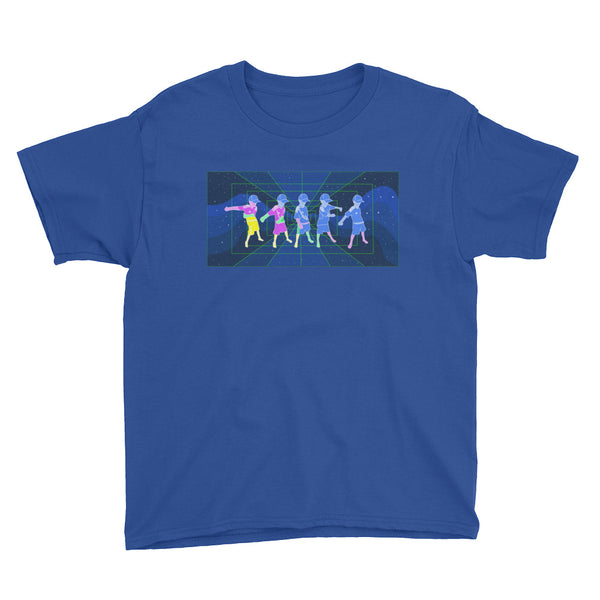 Space Floss - Youth Short Sleeve T-Shirt