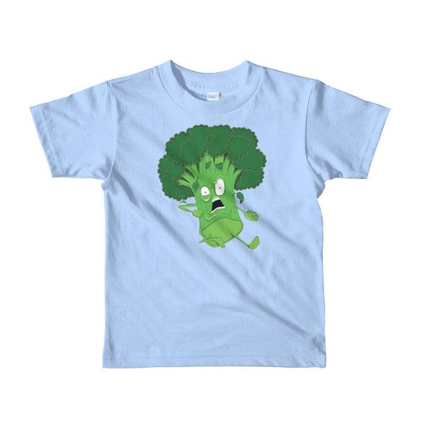 Karate Broccoli Explosion | Short Sleeve Kids T-Shirt