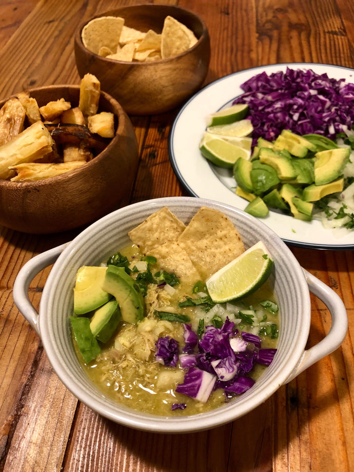 Delicious Pozole Verde with Chicken Recipe