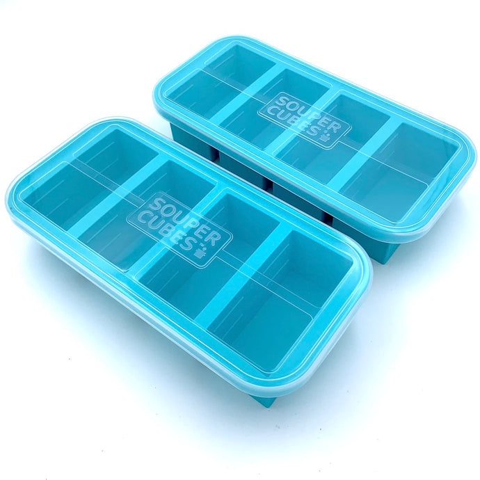 Souper Cubes® 1-Cup Tray with lid (pack of two)