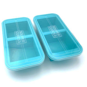 Souper Cubes® 2-Cup Tray with Lid (pack of two)