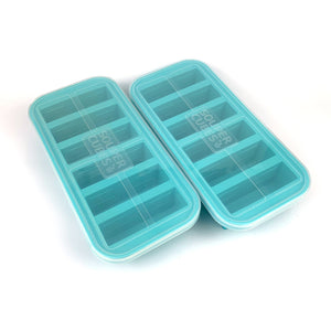Souper Cubes 1/2-Cup Freezing Tray with Lid (pack of two)