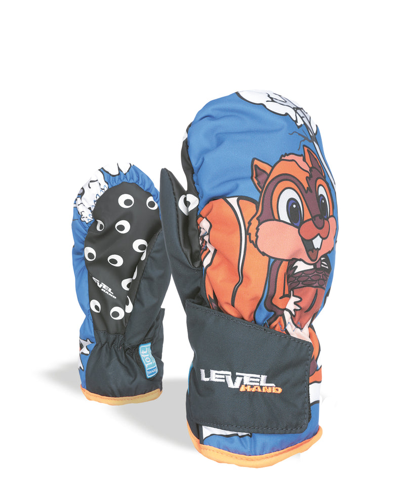 Animal Skiing and Snowboarding Mitten for Kids
