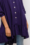 Tunic with Ruffles