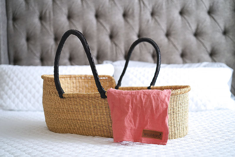 African moses basket and bassinet