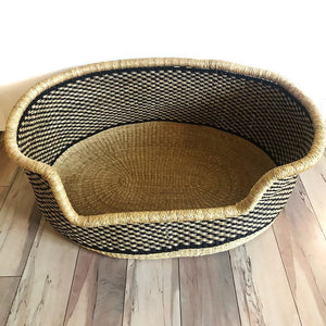 Large Bolga Dog Bed