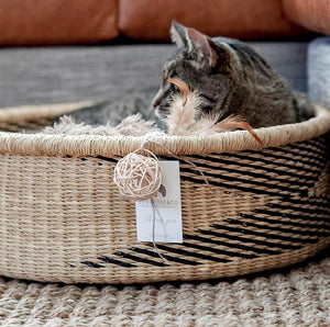 Luxury Cat Bed - Cat-Small Dog Bed With Cushion
