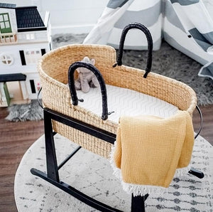 moses basket seagrass