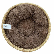 Load image into Gallery viewer, African Moses Basket - Cat-Small Dog Bed With Cushion