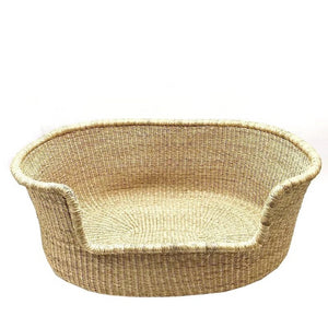 Wicker Dog Bed - XL Woven Dog Bed