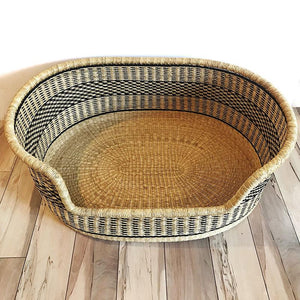 XL Woven Dog Bed