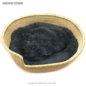 Dog Cushion - Dark Gray