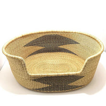 Load image into Gallery viewer, Bolga Baskets Dog Bed