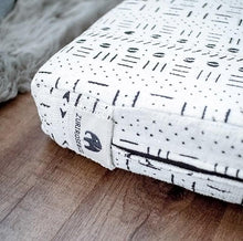 Load image into Gallery viewer, MudCloth Dog Bed - XL African MudCloth Dog Bed