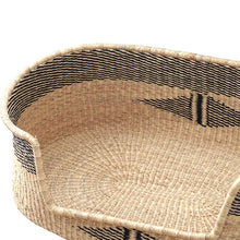 Load image into Gallery viewer, wicker rattan dog bed