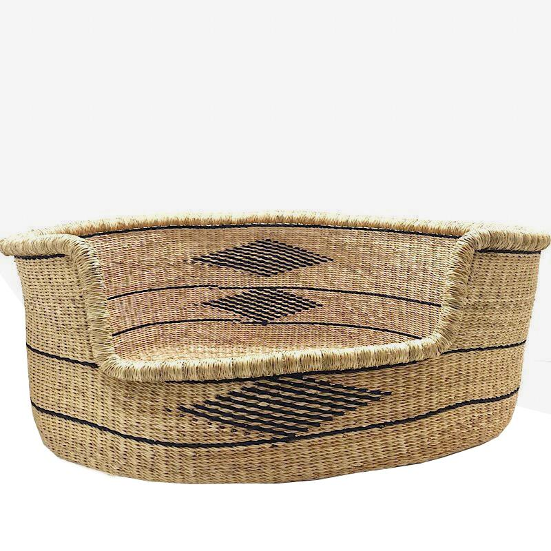 Large Woven Dog Bed