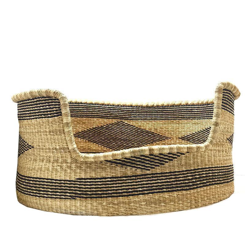 woven dog bed organic