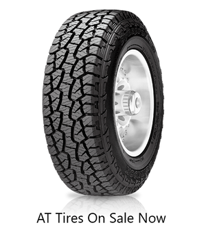 Free Shipping on All Terrain AT tires Porters Tire Store