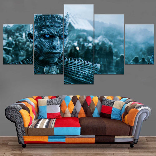 Décoration Murale Games Of Thrones Marcheur Blanc-Monde Déco
