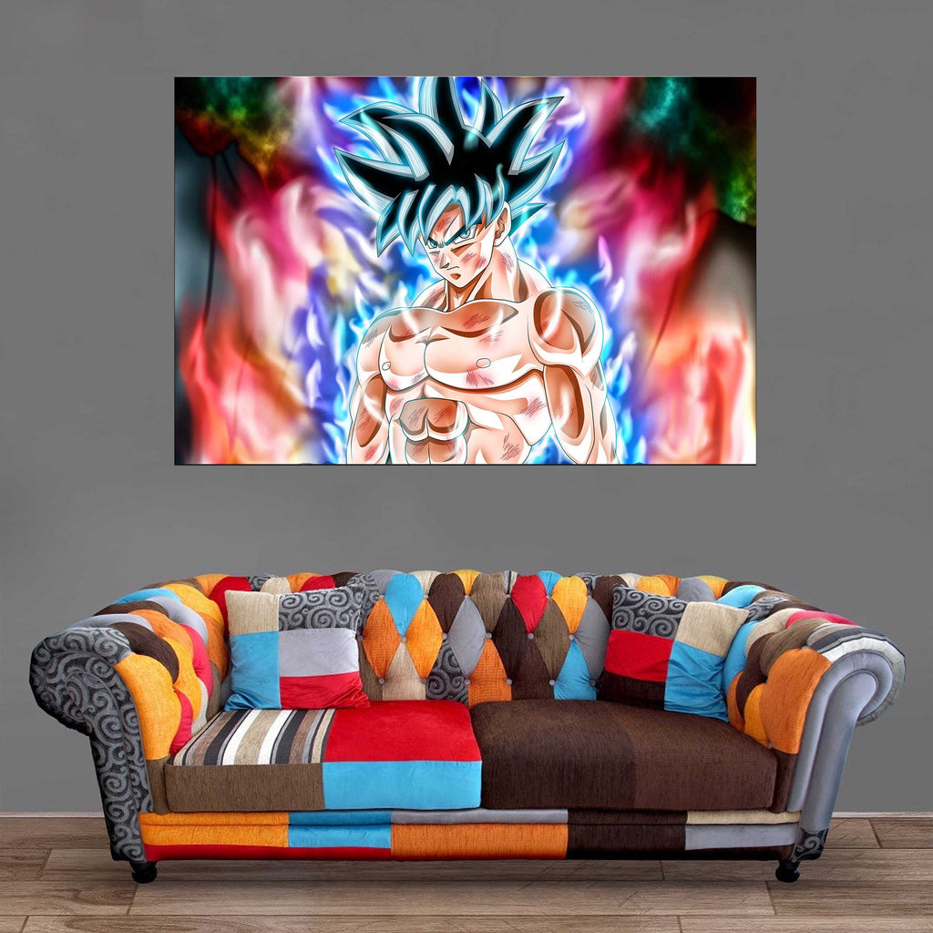 Décoration Murale Dragon Ball Super Goku Ultra Instinct 2-Monde Déco