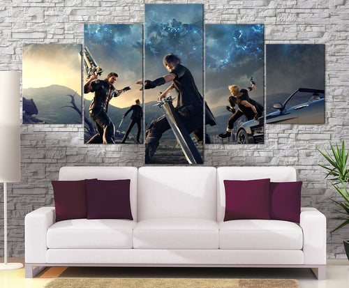 Décoration murale Final Fantasy 15 Battle-Monde Déco