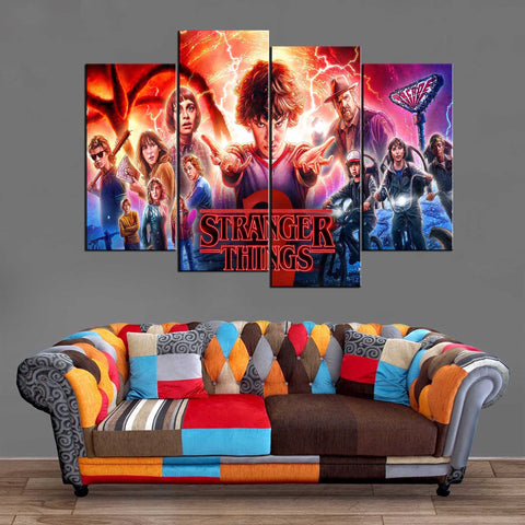 Décoration Murale Stranger Things