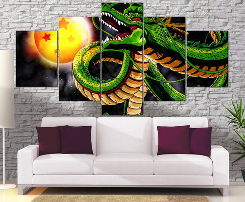 Décoration Murale Dragon Ball Z Invocation Shenron-Monde Déco