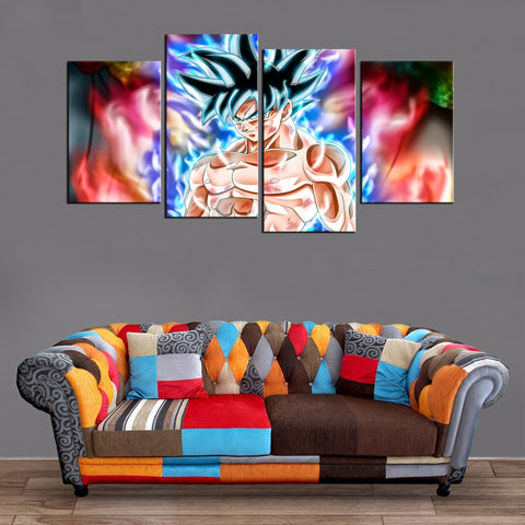 Décoration Murale Dragon Ball Super Goku Ultra Instinct 2