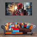 Décoration Murale Deadpool Destruction-Monde Déco