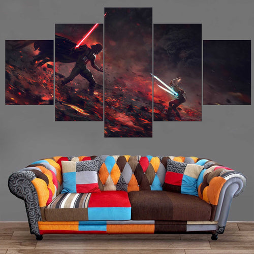 Décoration Murale Star Wars Dark Vador Fight-Monde Déco