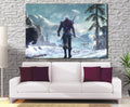 Décoration murale The Witcher Geralt