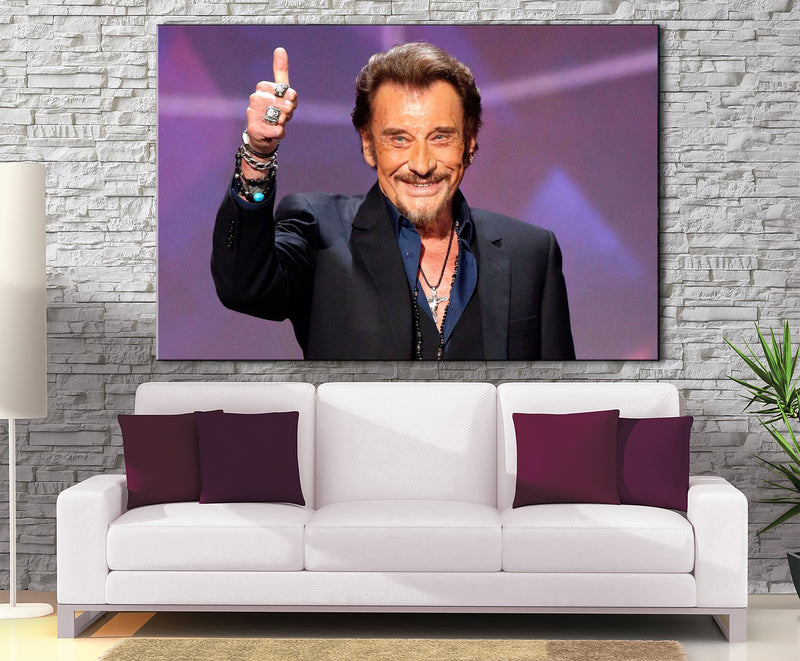 Décoration Murale Johnny Halliday