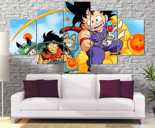 Décoration Murale Dragon Ball Goku Beginning-Monde Déco