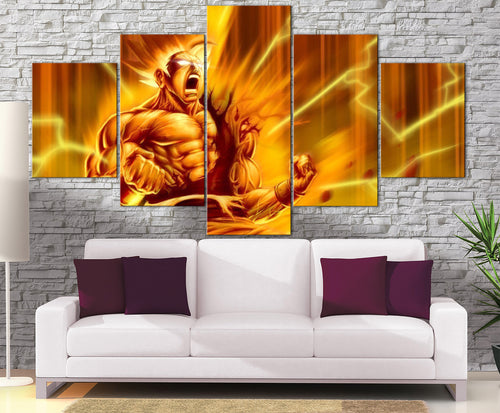 Décoration Murale Dragon Ball Z Goku Super Saiyan-Monde Déco