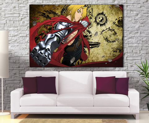 Décoration Murale Full Metal Alchemist Edward