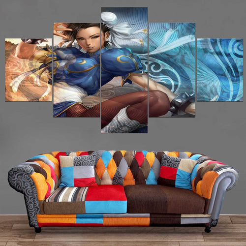 Décoration Murale Street Fighter Chun Li-Monde Déco
