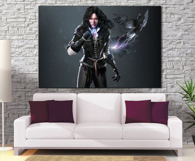 Décoration Murale The Witcher Yennefer Power
