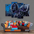 Décoration Murale Avengers Black Panther Shadow-Monde Déco