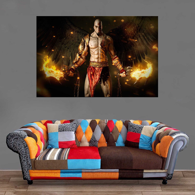 Décoration Murale God Of War God Kratos-Monde Déco