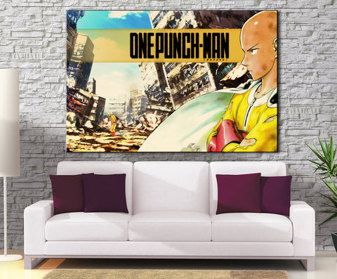 Décoration Murale One Punch Man Saitama