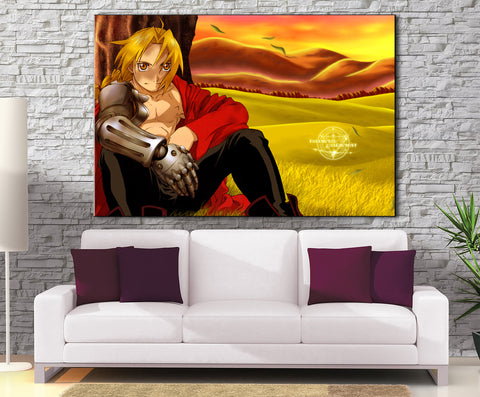 Décoration Murale Full Metal Alchemist Edward Elric