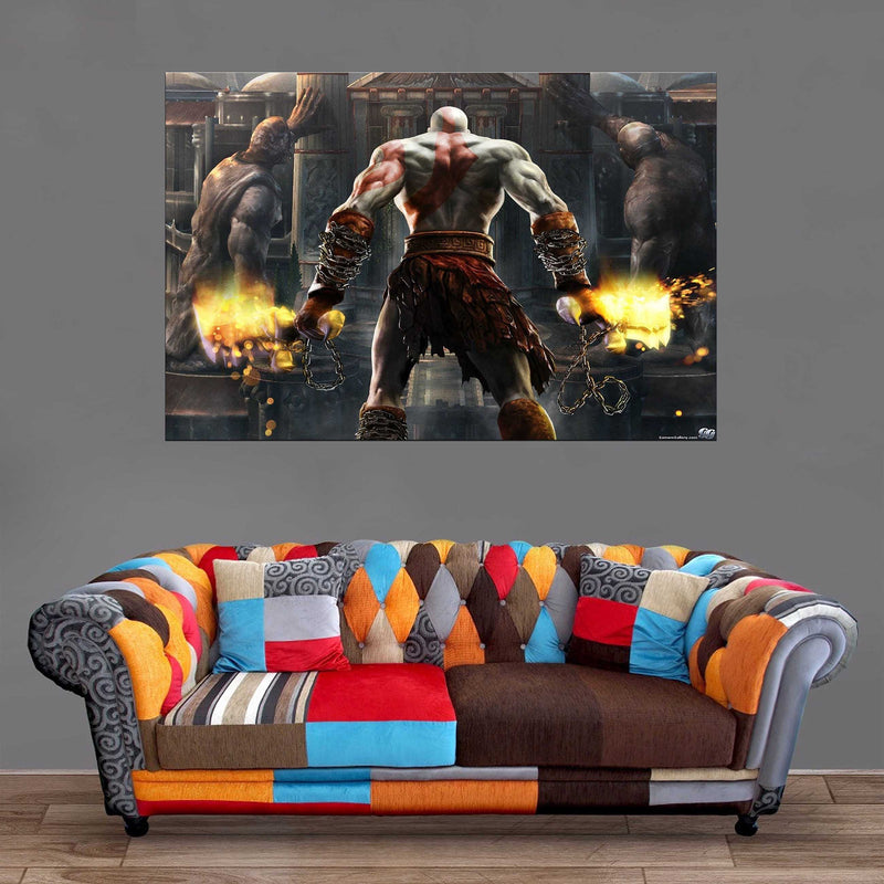 Décoration Murale God Of War Kratos Power-Monde Déco