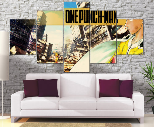 Décoration Murale One Punch Man Saitama-Monde Déco